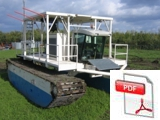 Amphibian Buggy EAB150 - Dredgers & Pumps